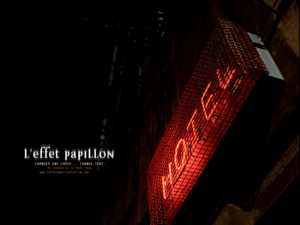 Wallpaper Hotel L'effet papillon