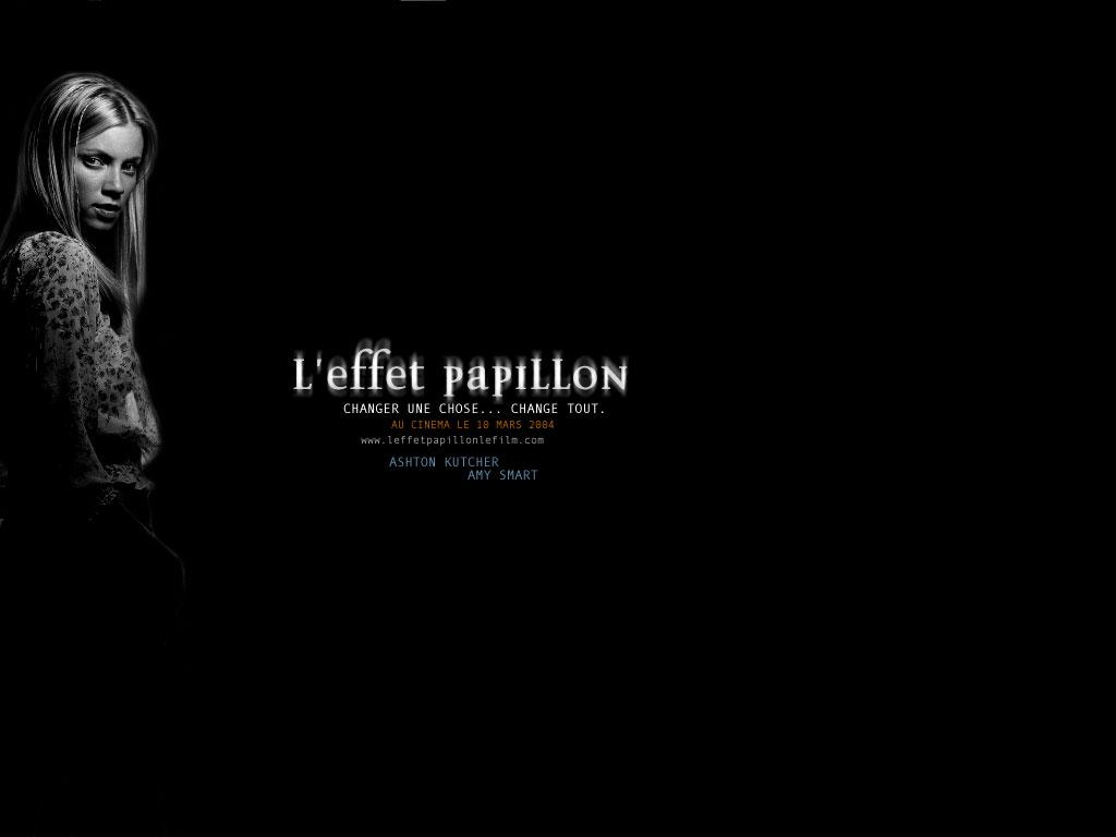 Wallpaper L'effet papillon Amy Smart