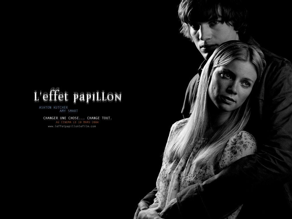 Wallpaper L'effet papillon Ashton Kutcher & Amy Smart