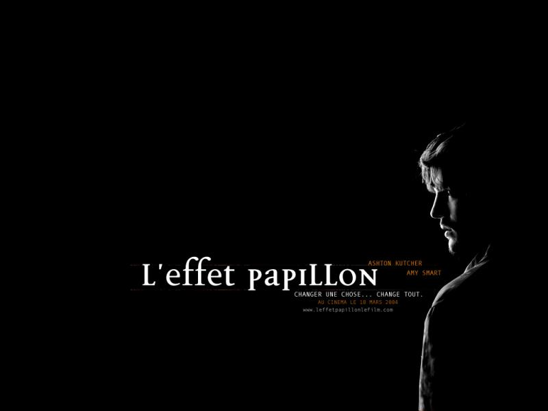 Wallpaper Ashton Kutcher L'effet papillon