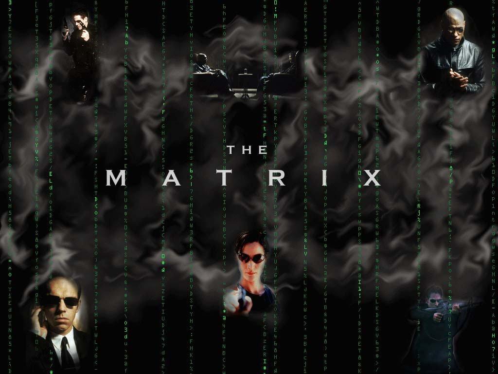 Wallpaper Matrix personnages