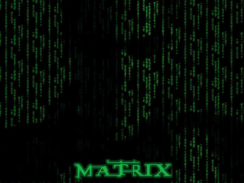 Wallpaper Matrix code