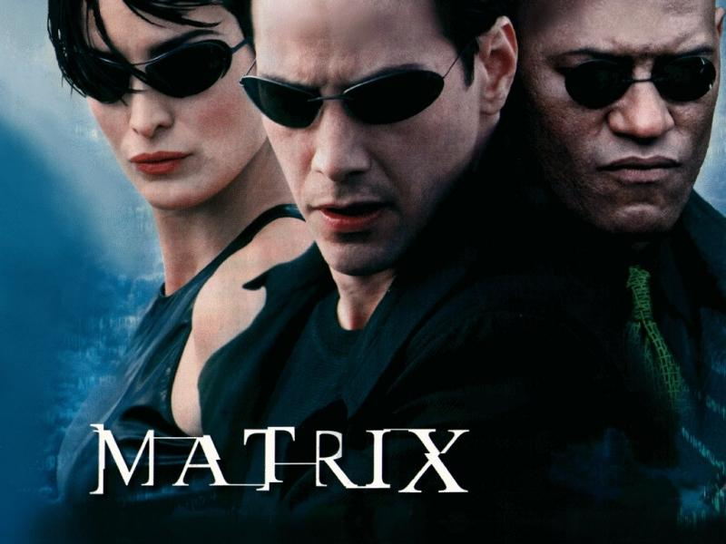 Wallpaper Matrix la matrice