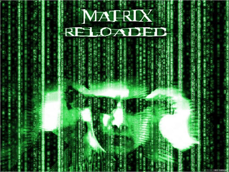 Wallpaper Matrix matrix reloaded