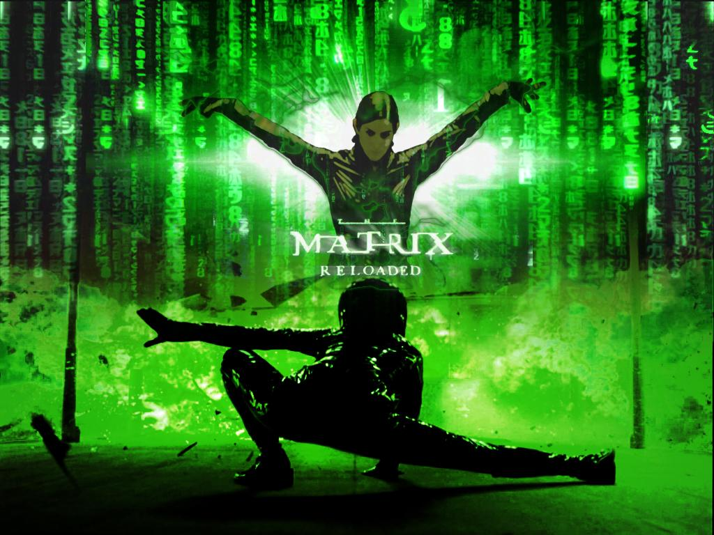 Wallpaper trinity Matrix