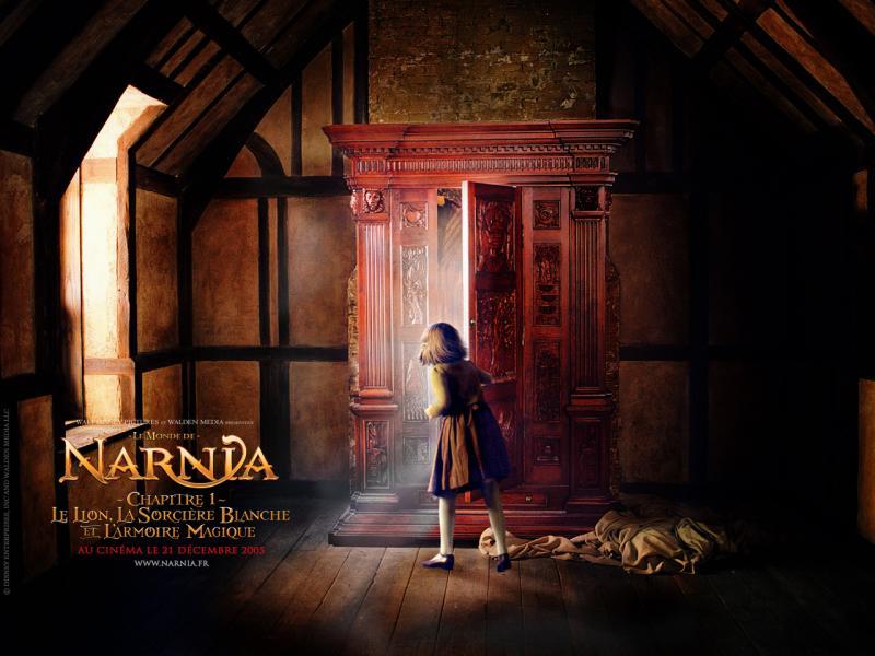 Wallpaper Le Monde de Narnia Armoire magique