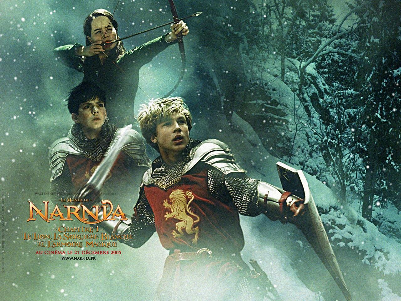 Wallpaper kids Lucy Susan Edmund Peter Pevensie Le Monde de Narnia