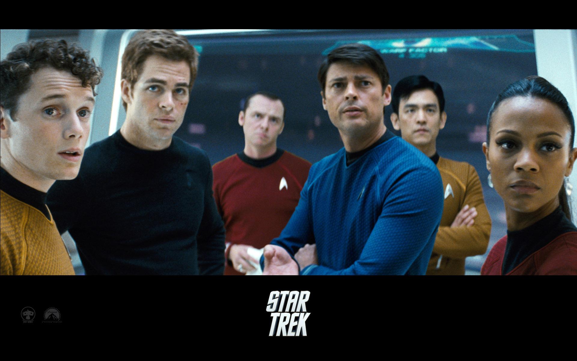 Wallpaper Star Trek Equipe