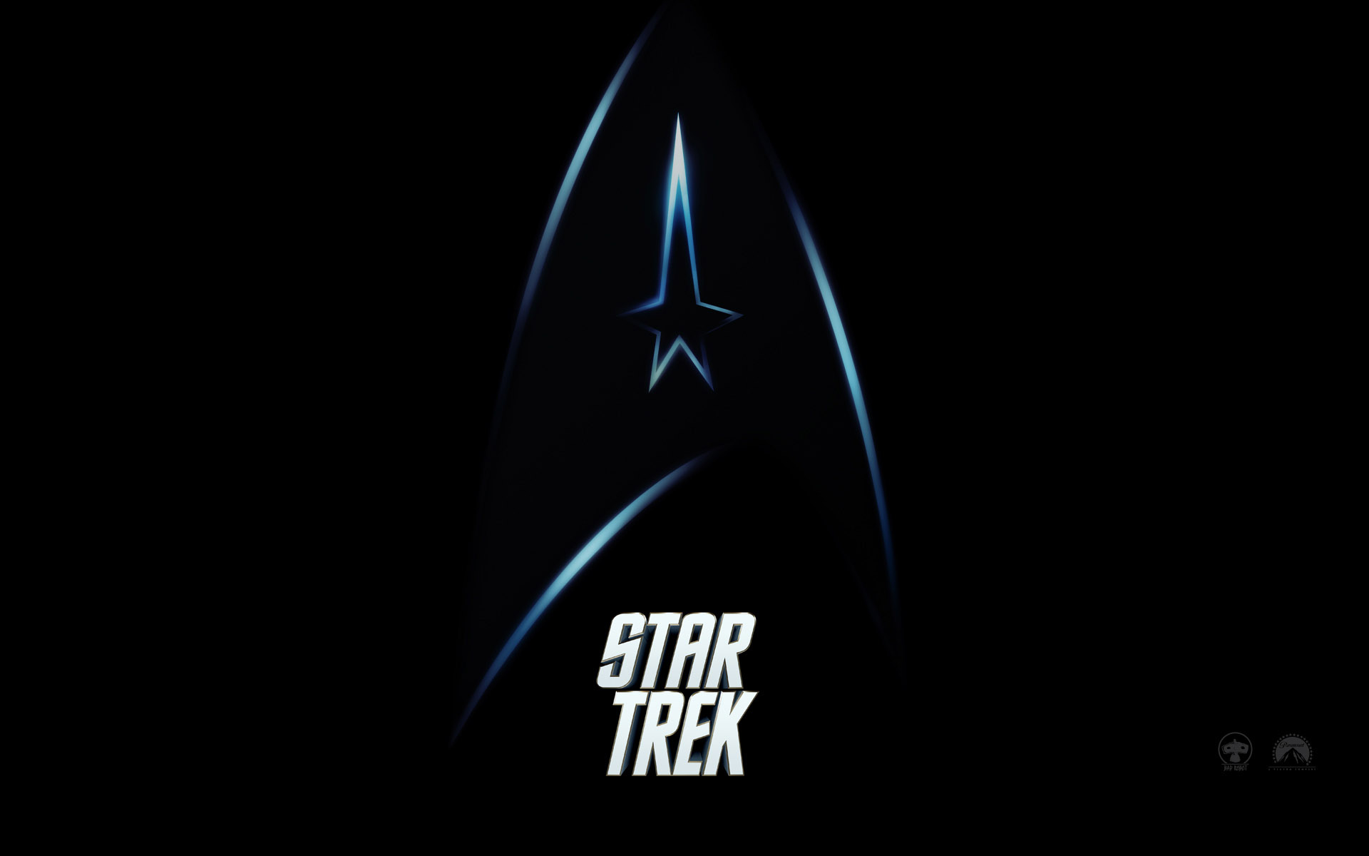 Wallpaper Logo Star Trek