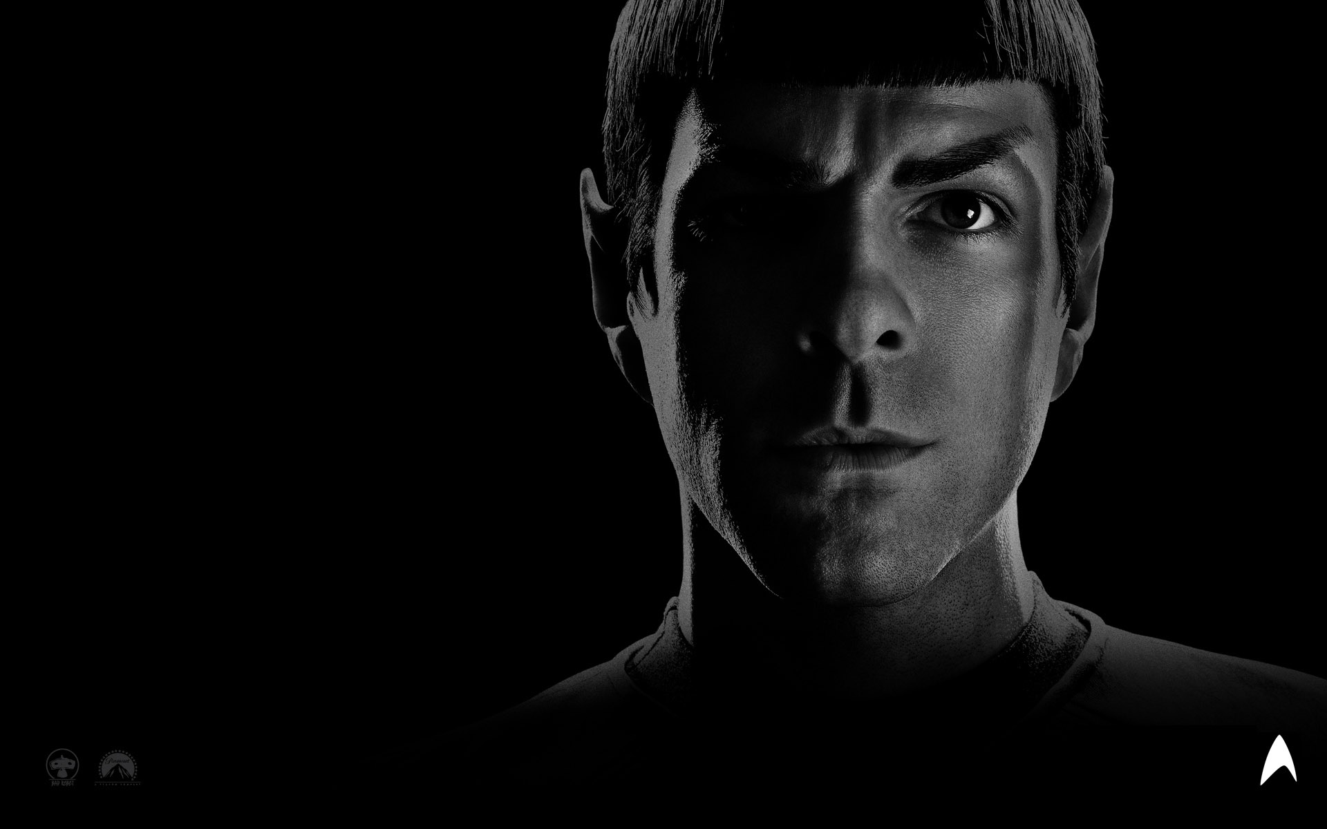 Wallpaper Star Trek Portrait Spock