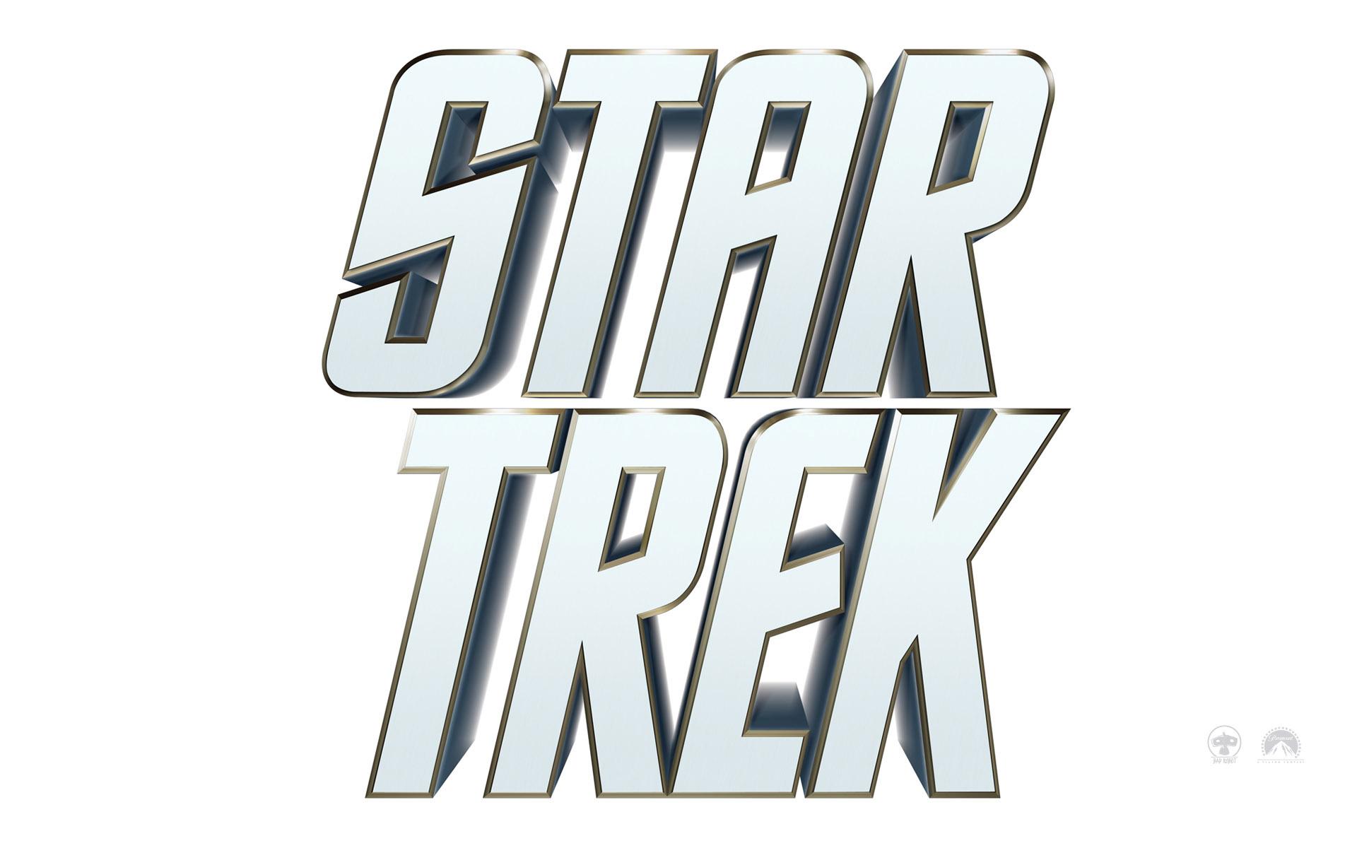 Wallpaper Titre blanc du Film Star Trek