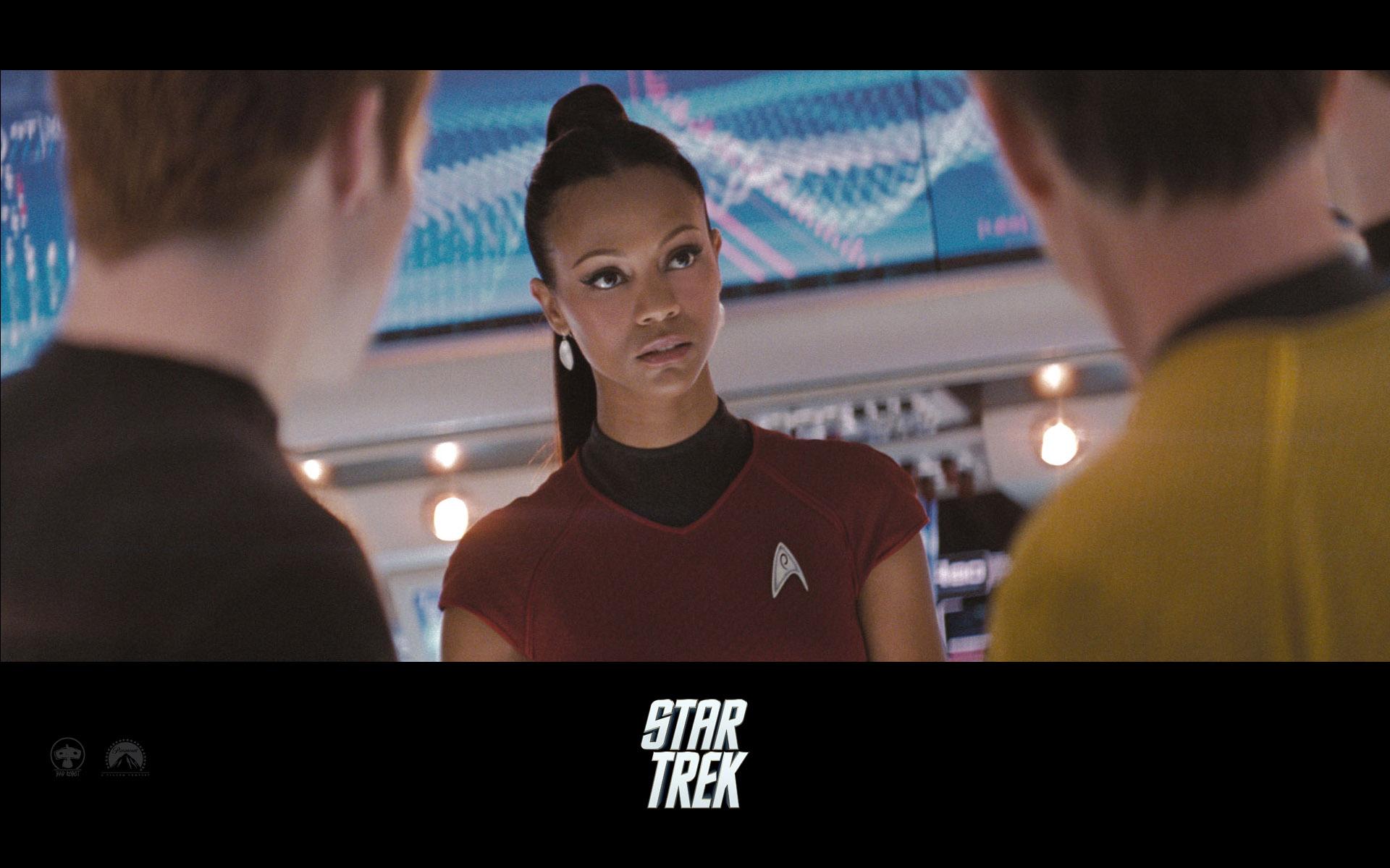 Wallpaper actrice Zoe Saldana Star Trek
