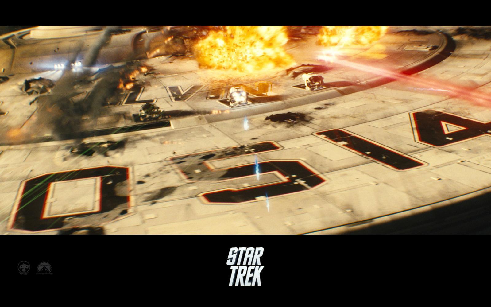 Wallpaper Star Trek Combats