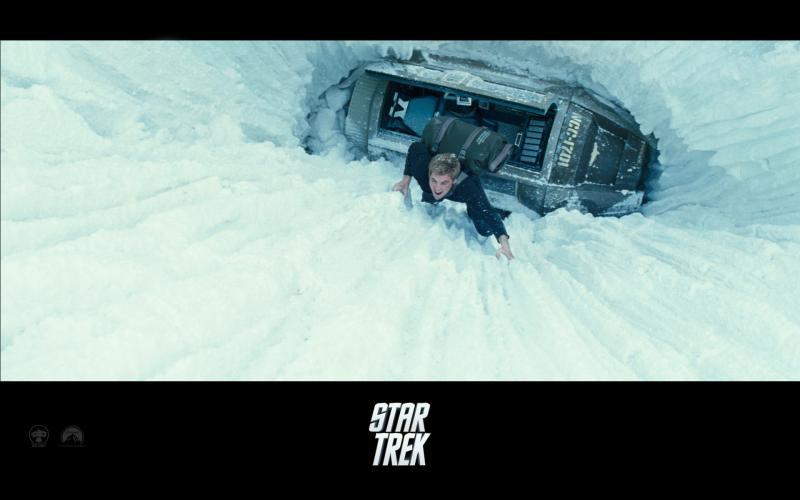 Wallpaper Star Trek Escalade Chris Pine