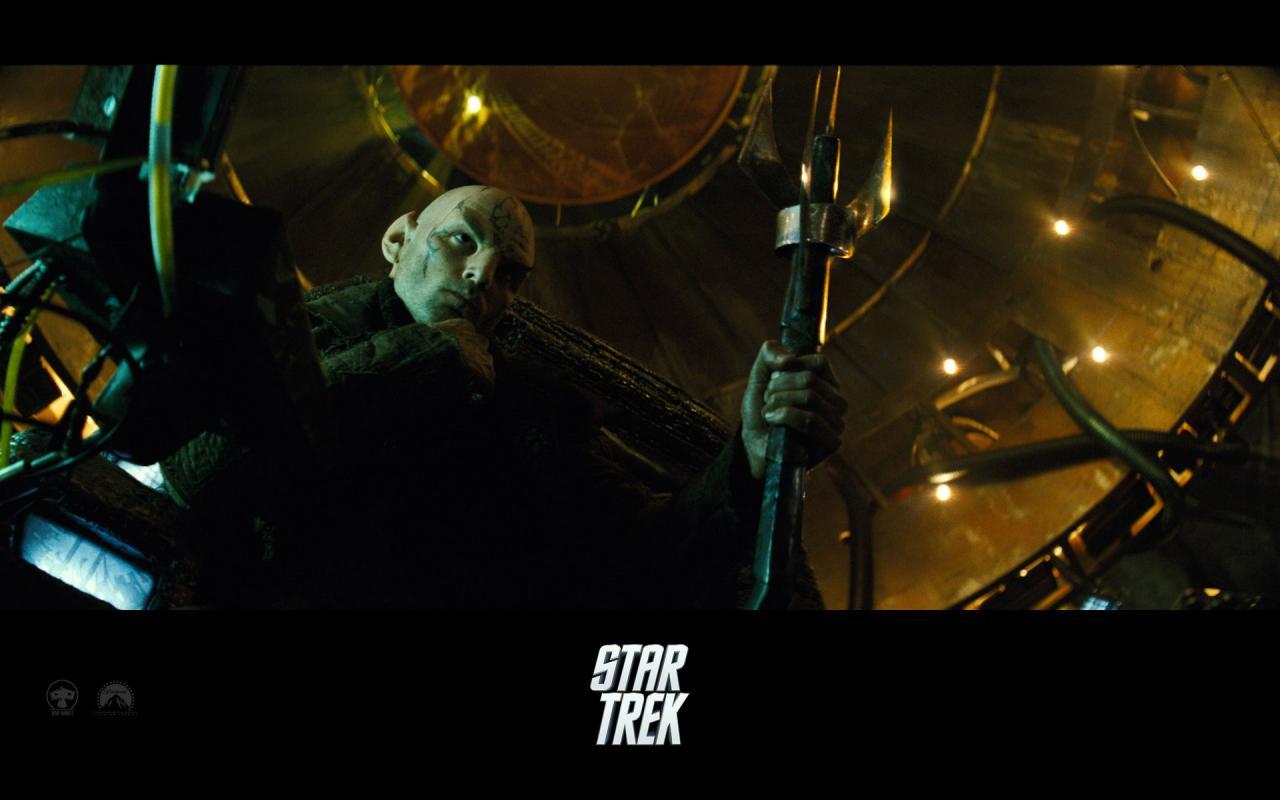 Wallpaper Star Trek Gros méchant au trident