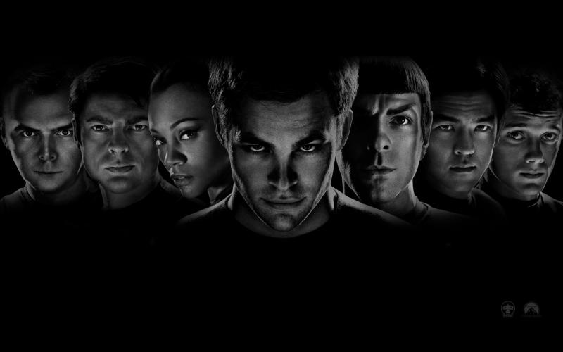 Wallpaper Principaux Acteurs Star Trek