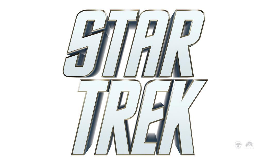 Wallpaper Star Trek Titre blanc du Film