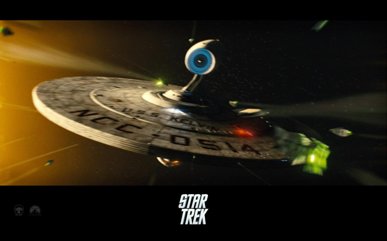 Wallpaper Star Trek Vaisseau