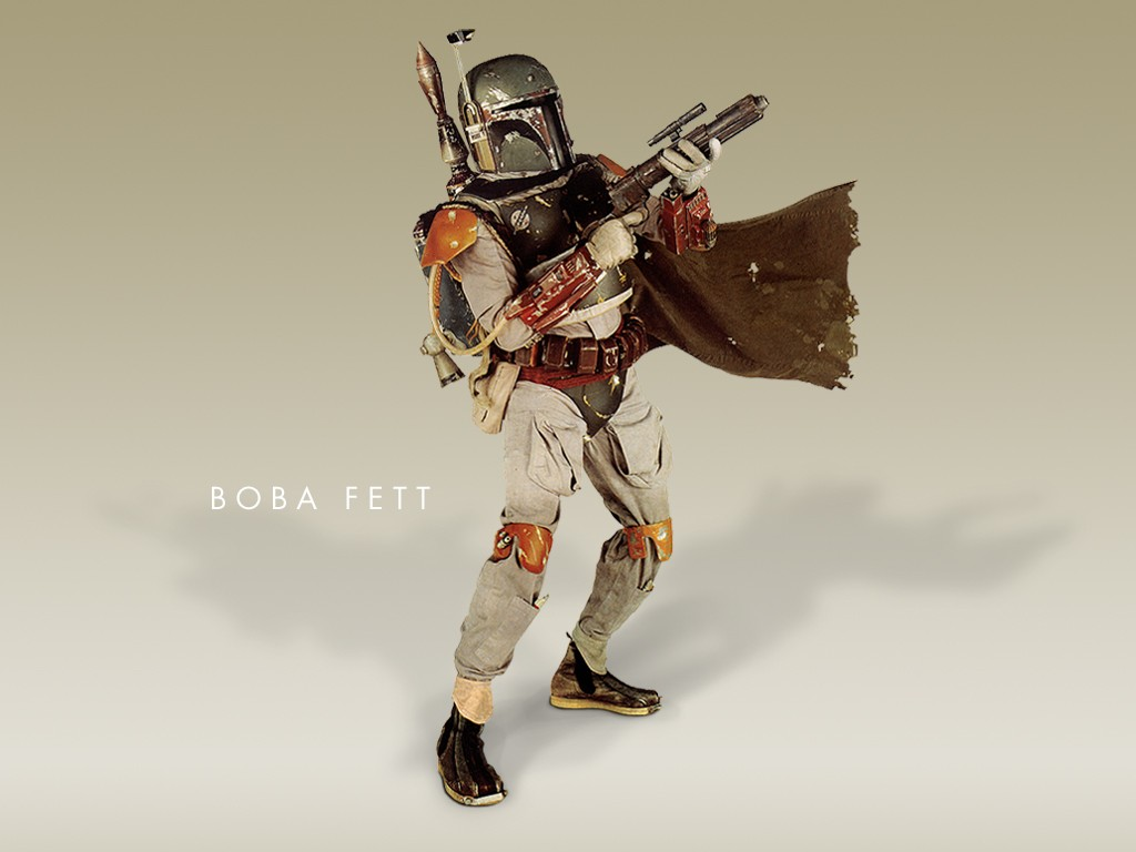 Wallpaper Star Wars Boba Fett