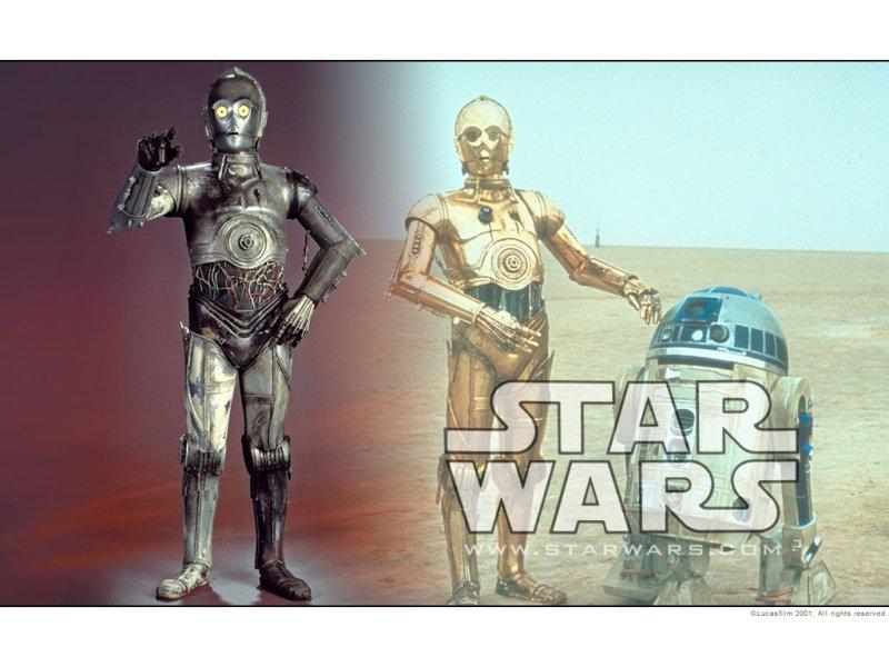 Wallpaper Star Wars C3PO