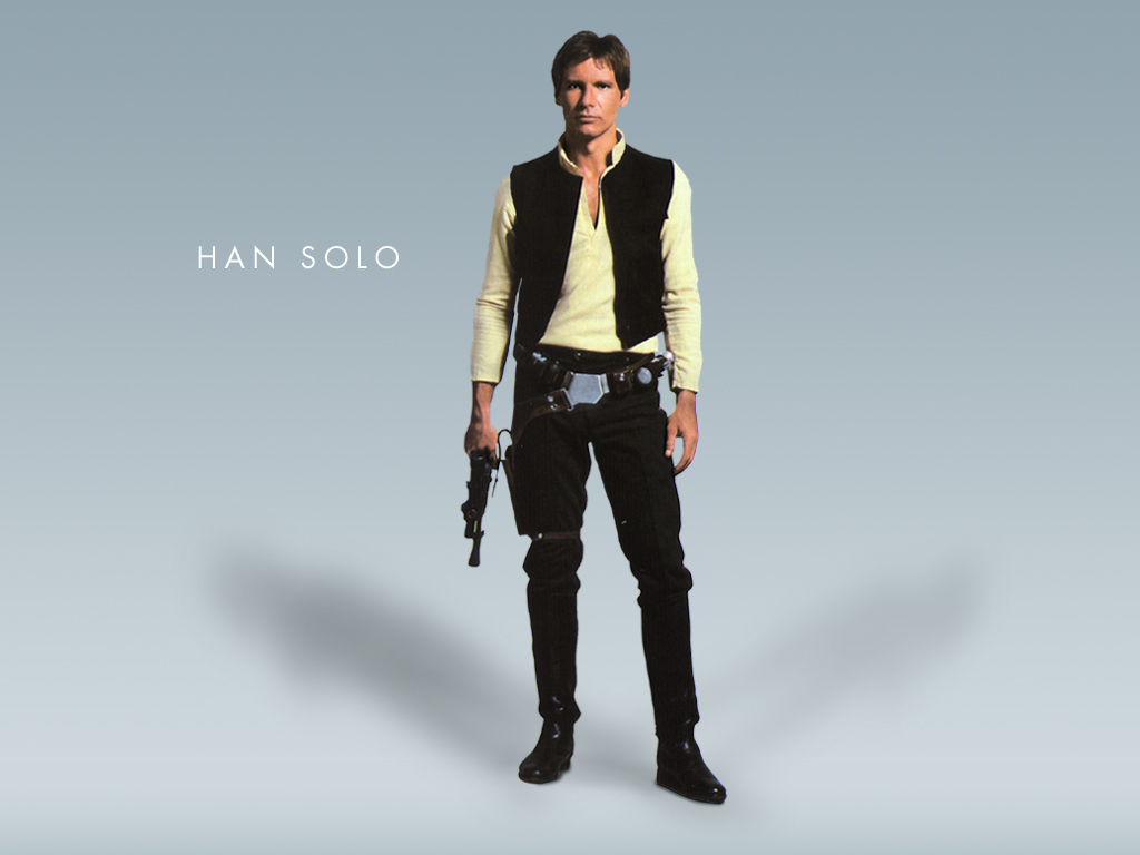 Wallpaper Star Wars Han Solo