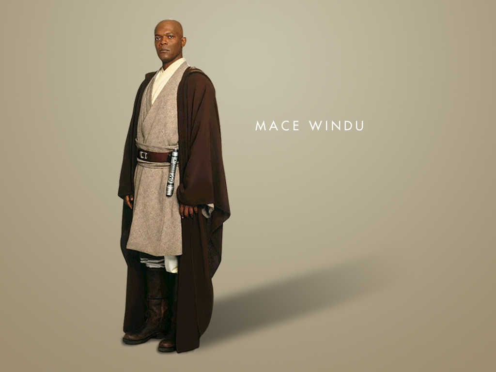 Wallpaper Star Wars Mace Windu