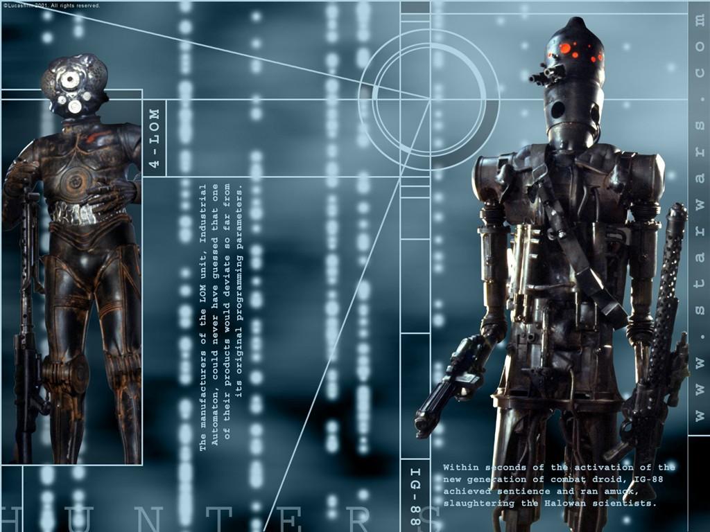 Wallpaper Star Wars Robot