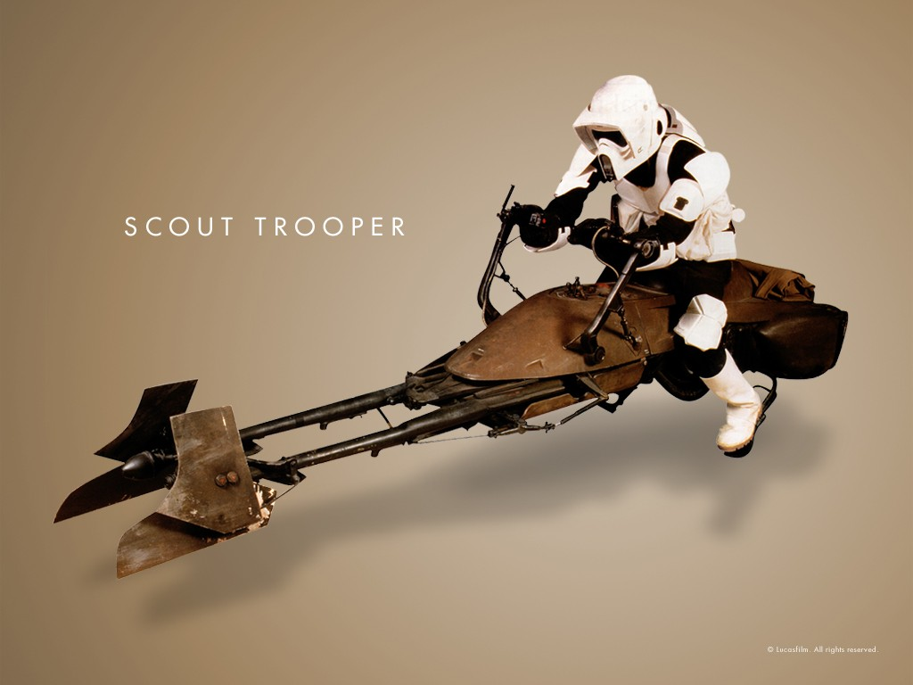 Wallpaper Star Wars Scout Trooper