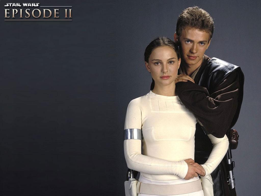 Wallpaper Ani & padme Star Wars