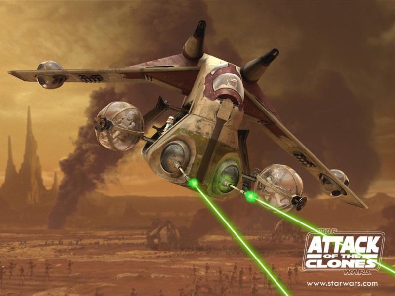 Wallpaper Star Wars Clone War