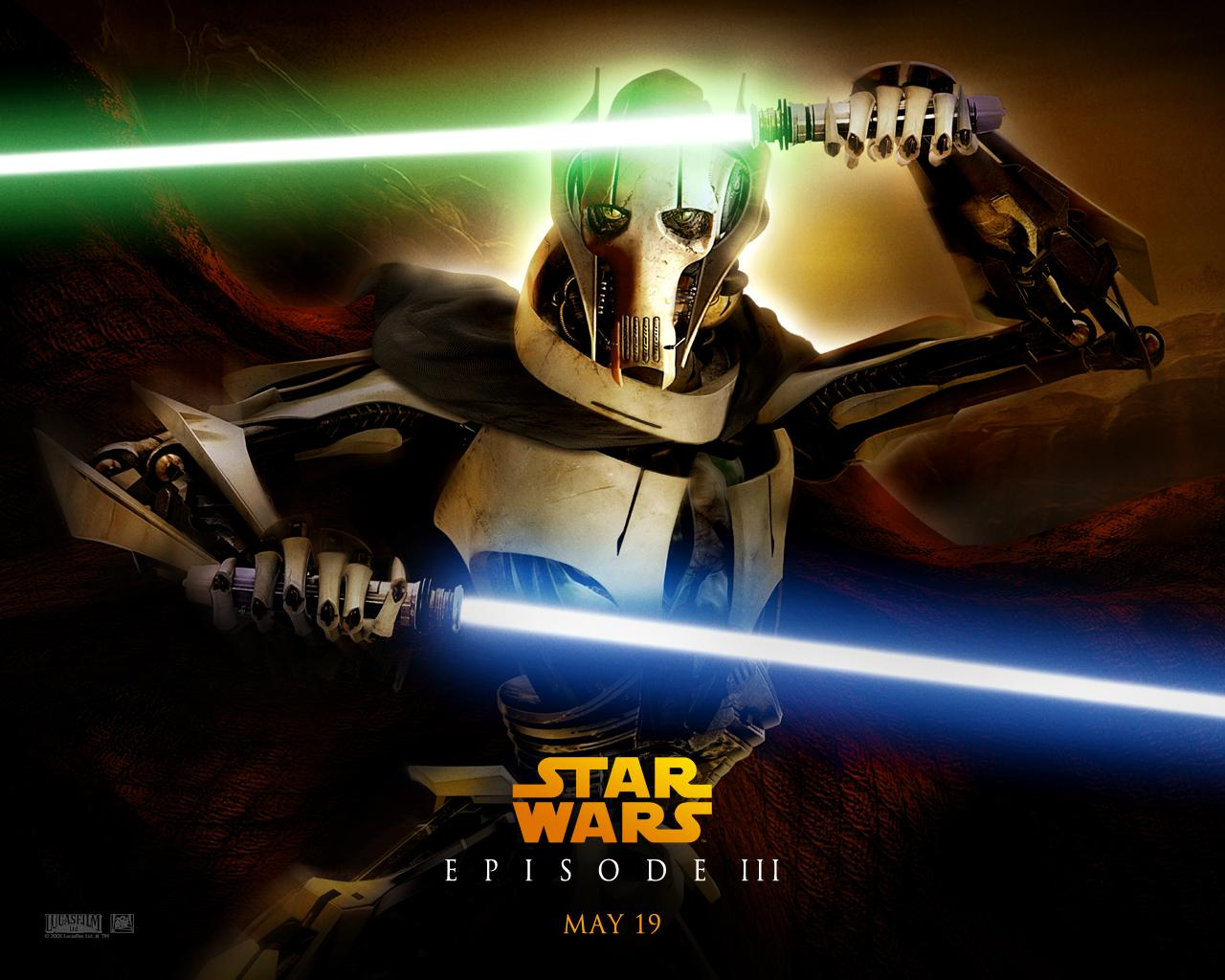 Wallpaper General Grievous Star Wars
