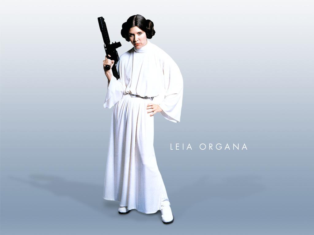 Wallpaper Star Wars Leia Organa