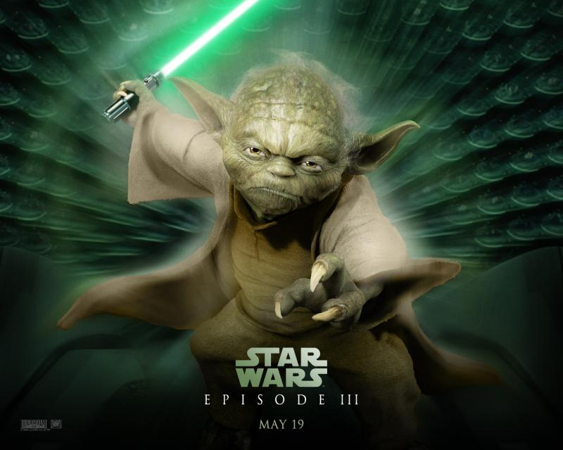 Wallpaper Maitre Yoda Star Wars