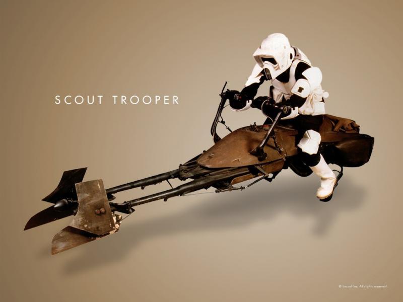 Wallpaper Star Wars Scout Trooper