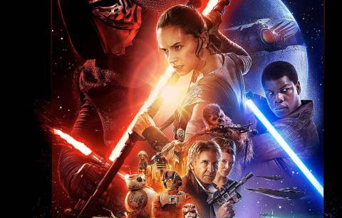 Wallpaper affiche cine horizontal Star Wars
