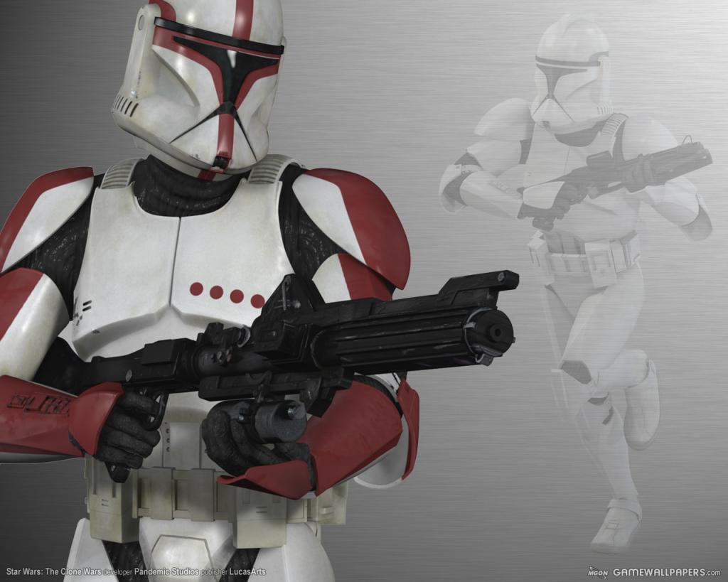 Wallpaper Star Wars clone wars