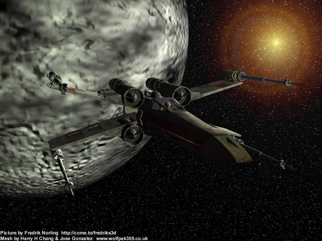 Wallpaper espace Star Wars