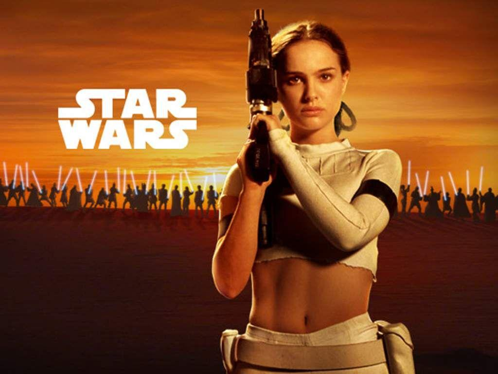 Wallpaper natalie portman Star Wars