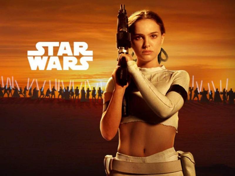 Wallpaper natalie portman Star Wars