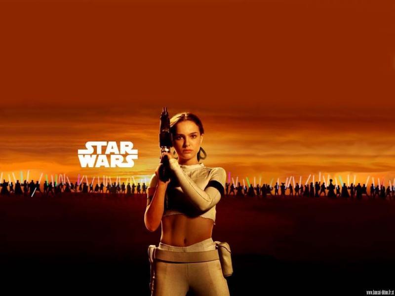 Wallpaper Star Wars padme