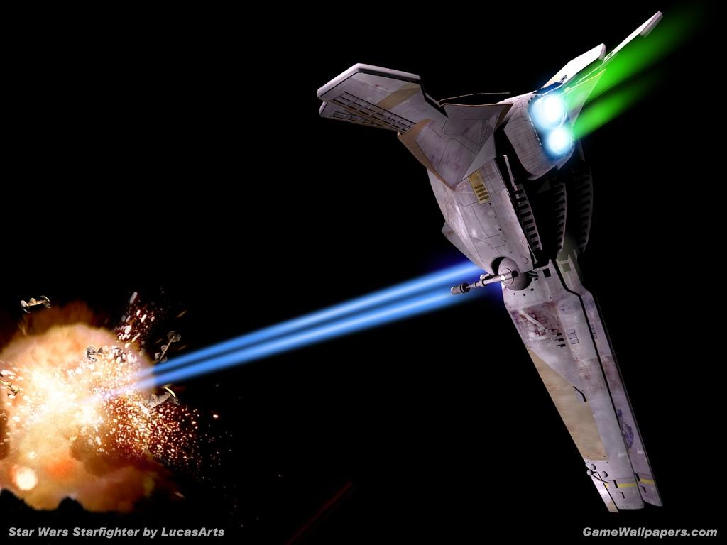 Wallpaper Star Wars starfighter