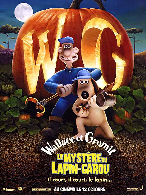 Wallpaper Affiche citrouille Wallace et Gromit