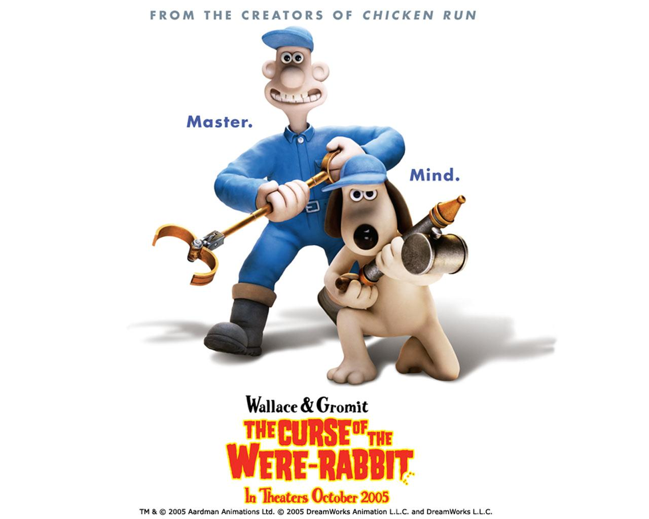 Wallpaper Wallace et Gromit A l attaque