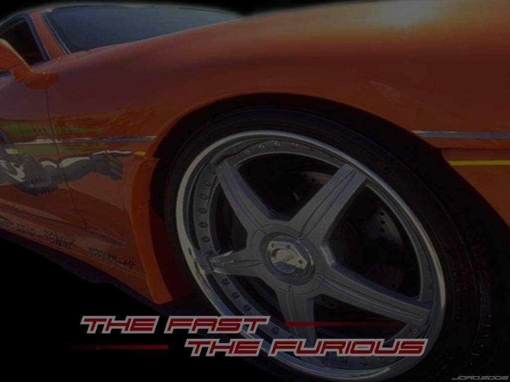 Wallpaper roue de caisse Fast and Furious