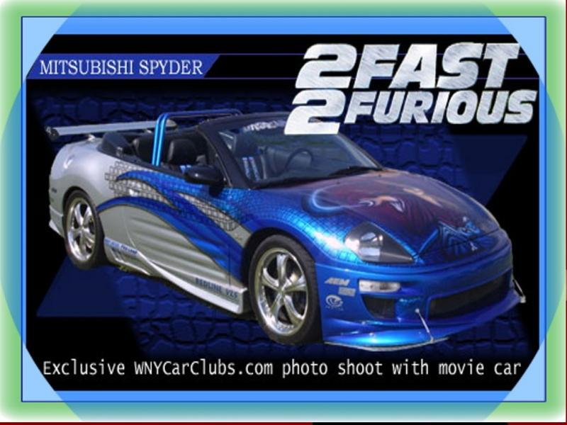 Wallpaper mitsubishi spyder Fast and Furious