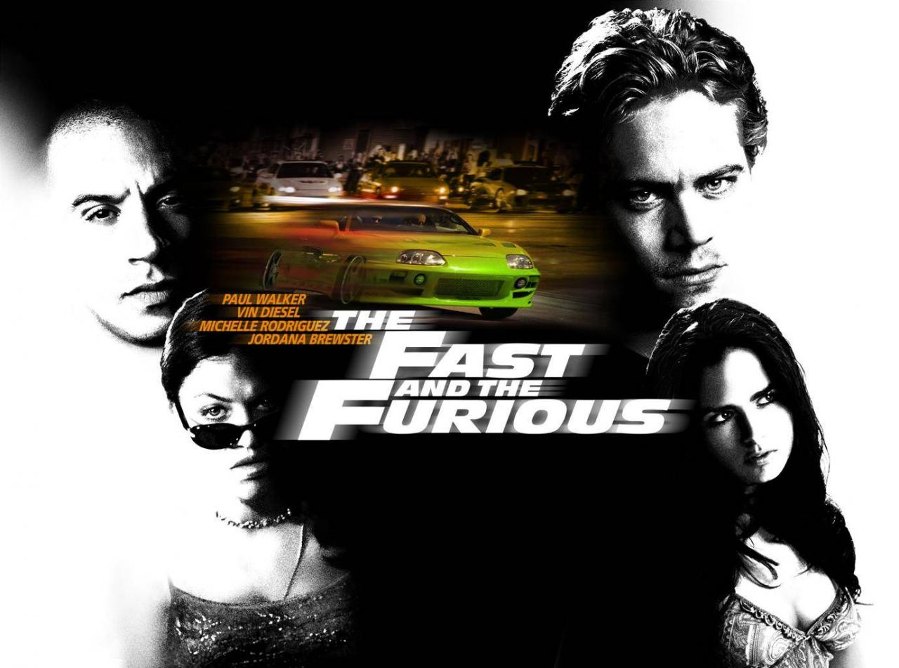 Wallpaper Fast and Furious personnages