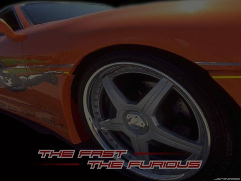 Wallpaper roue de caisse Fast and Furious