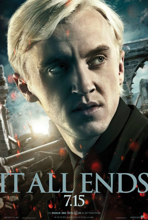 Wallpaper Harry Potter HP7 Part 2 poster - Draco