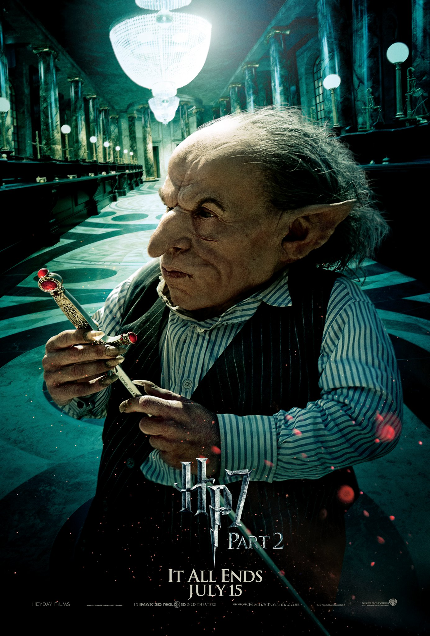 Wallpaper Harry Potter HP7 Part 2 poster - Goblin