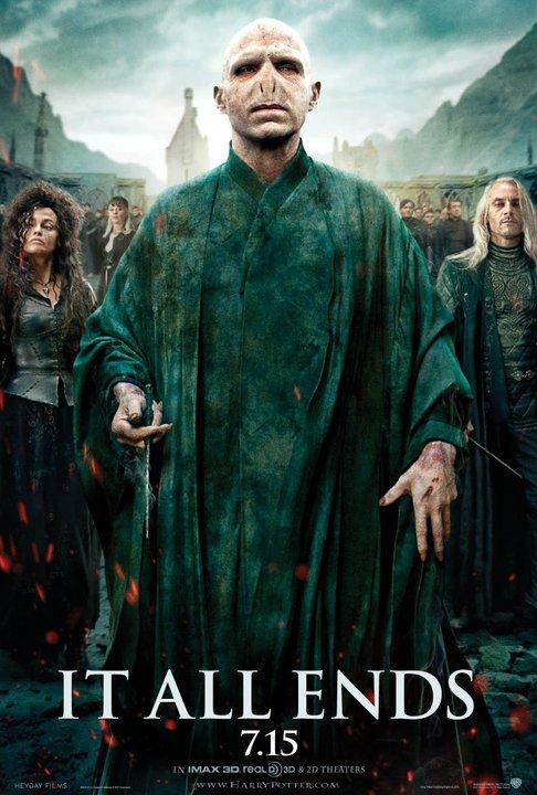 Wallpaper Harry Potter HP7 Part 2 poster - Voldemort